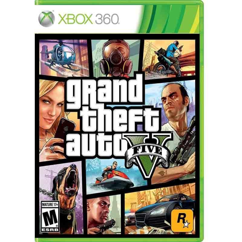 Xbox 360 Juego Grand Theft Auto V