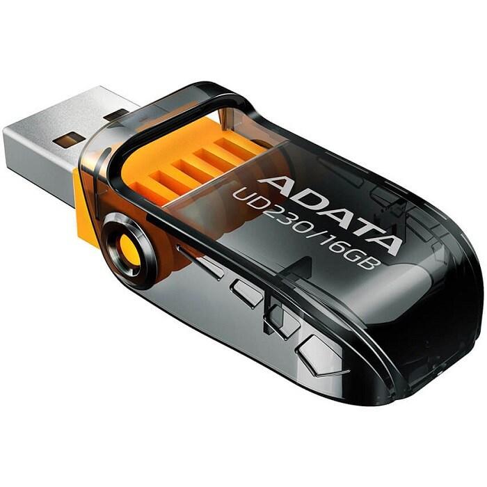 Memoria Flash USB Adata UD230 16GB Negra AUD230-16G-RBK