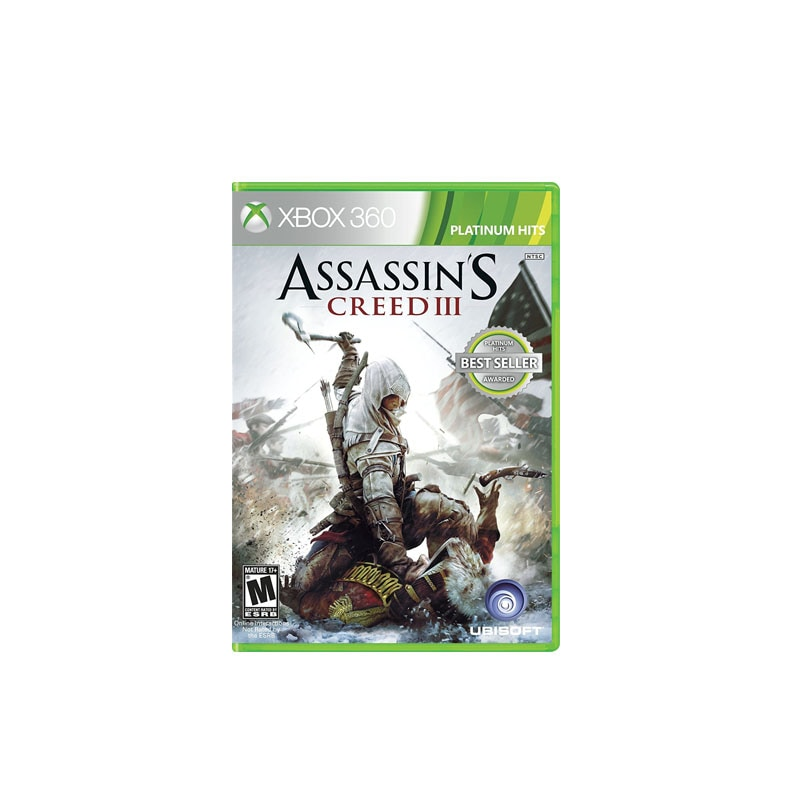 Xbox 360 Juego Assassin's Creed III