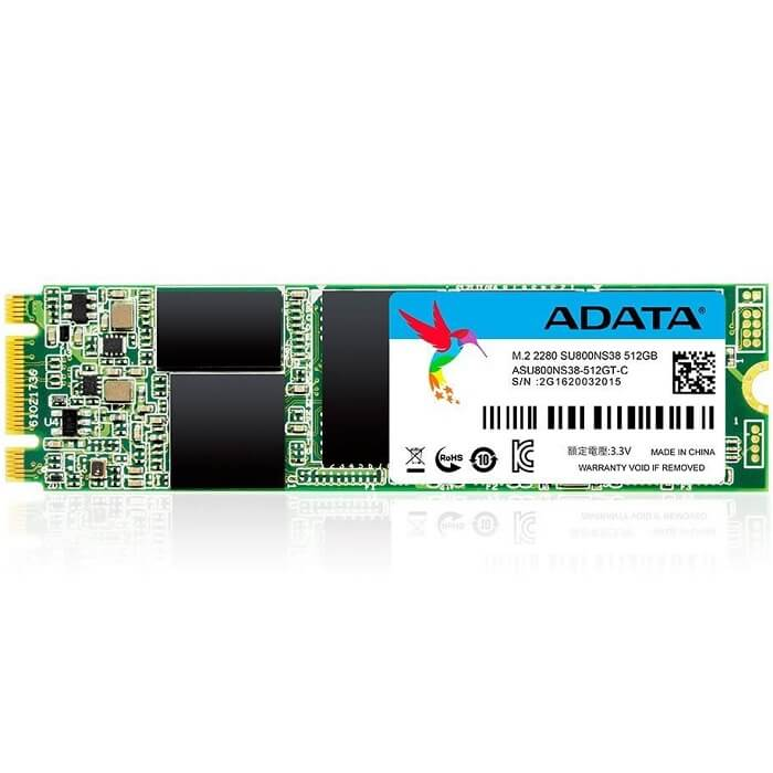 M.2 2280 SSD 512GB ADATA Ultimate SU800 ASU800NS38-512GT-C