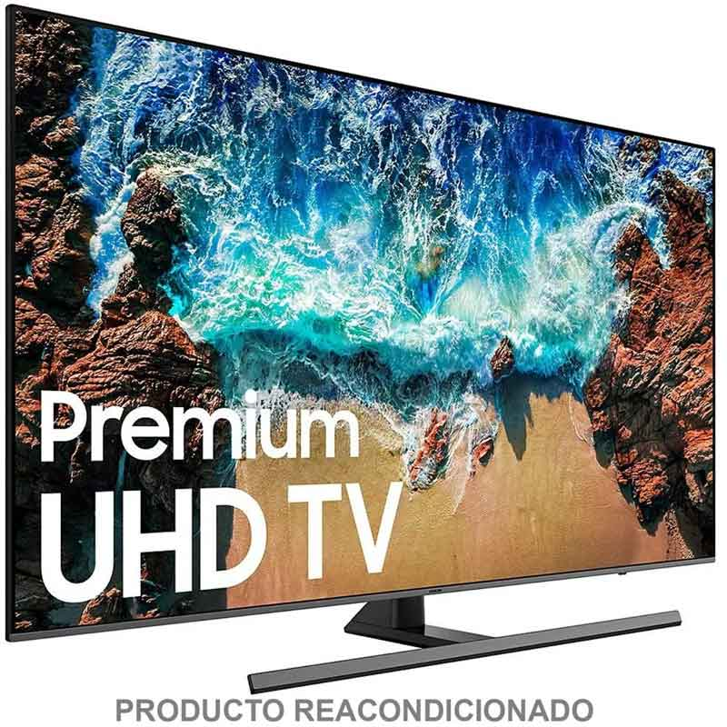 Pantalla SAMSUNG 55 UN55NU800DFXZA Television QLED 4K Smart TV HDR10+ Serie 8 Nuevo Modelo
