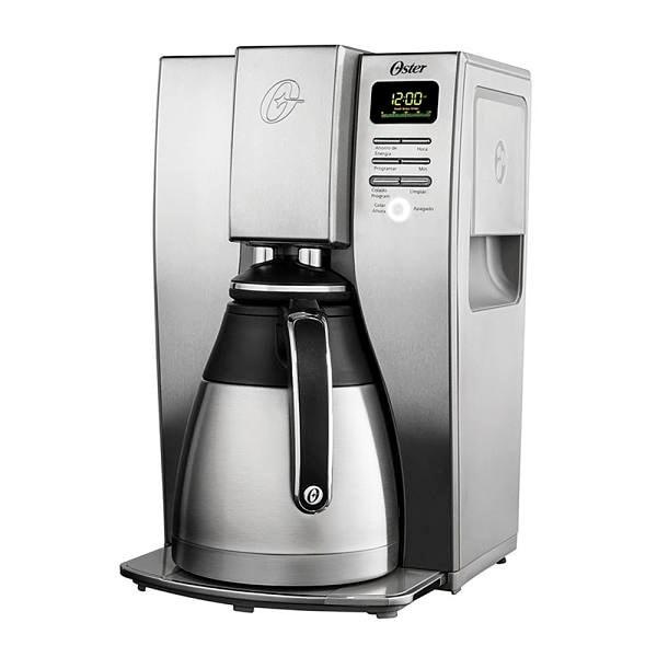 Cafetera digital Oster de 10 tazas de acero inoxidable modelo BVSTDC4411-013