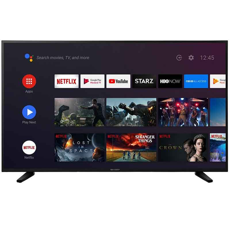 Pantalla SHARP 55 LC55Q7530U Television 4K Smart TV HDR 3M GTA ReAcondicionado