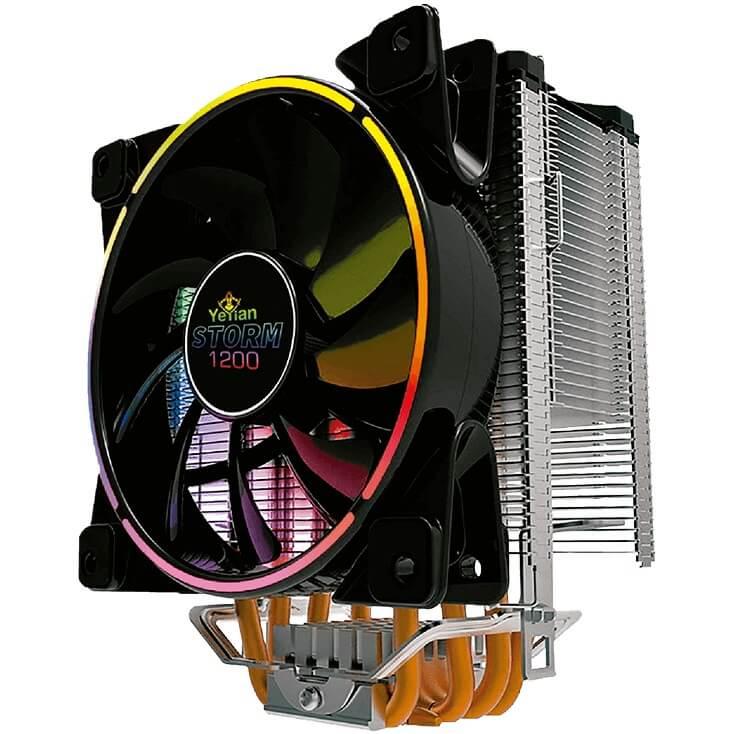 Disipador Ventilador YeYian STORM SERIE 1200 RGB AC1200