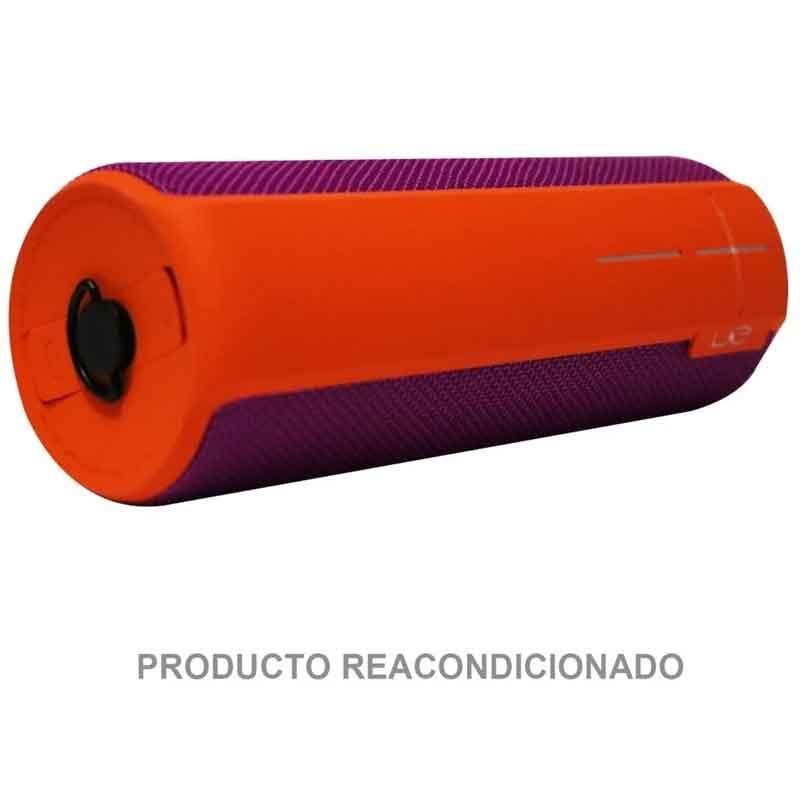 Bocina LOGITECH UE BOOM 2 Naranja Rosa 996-000205 Reacondicionada