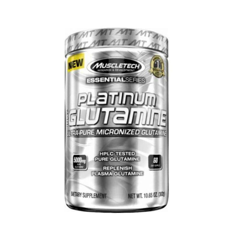 Suplemento Glutamina Muscletech Platinum  300 Gr