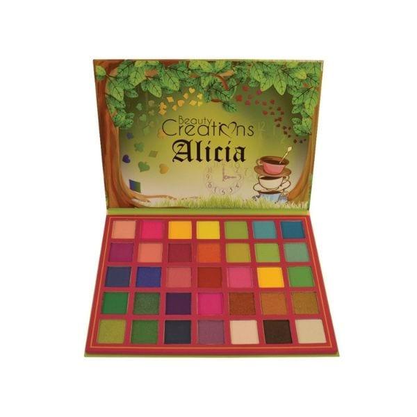 Paleta de 35 sombras Alicia de Beauty Creations