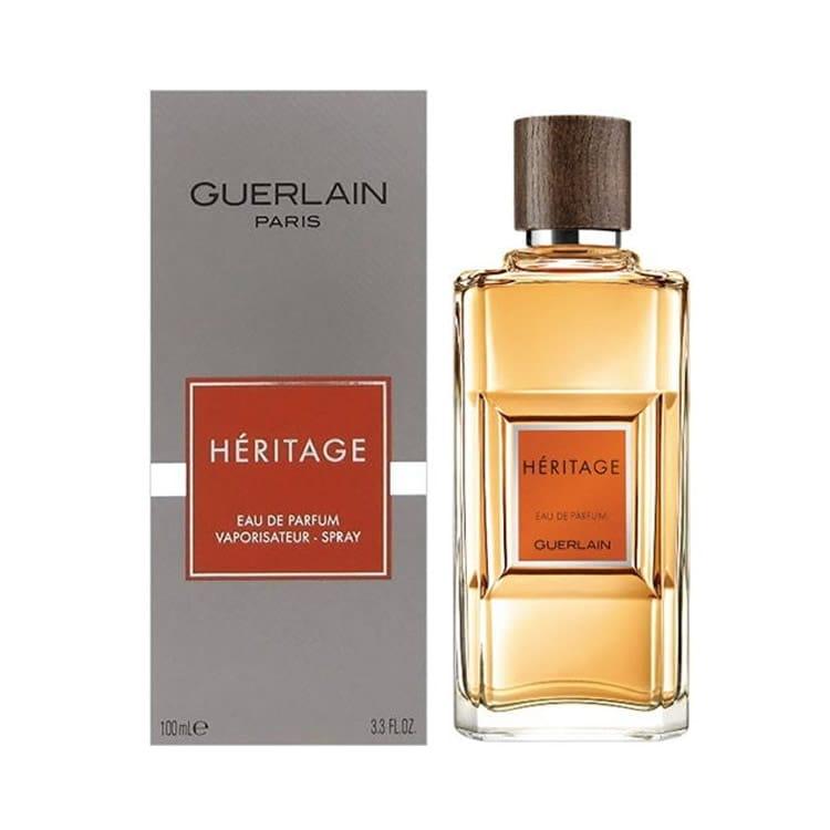 Perfume Caballero Guerlain Paris Héritage Eau De Toilette 100 ml