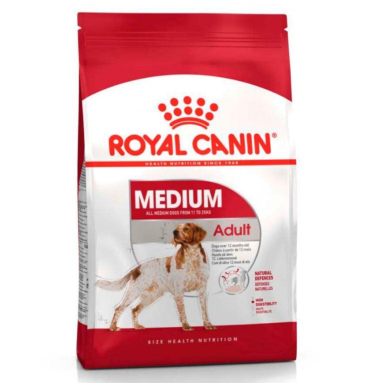 Medium Adulto Royal Canin 13,6 Kg - Alimento para Perro