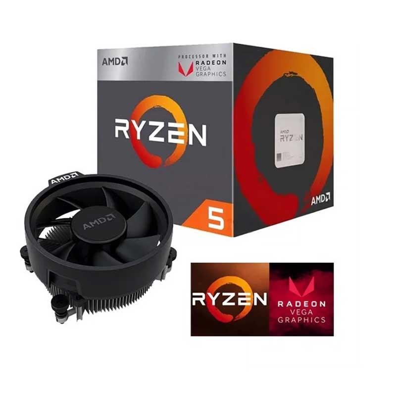 Pc Gamer Xtreme Amd Ryzen 5 3400G Ram 8Gb Unidad Ssd 240Gb Radeon Vega 11