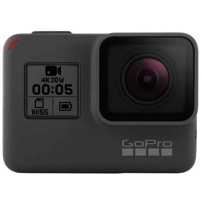 GoPro Hero 5 Black 4K 30 FPS 12mp Factory CHDNH-B15 Reacondicionado