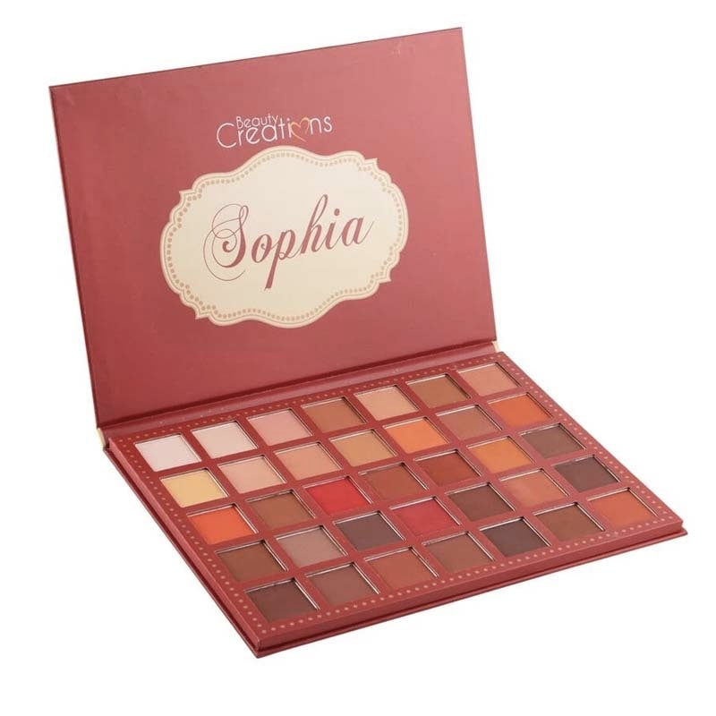 SOPHIA Paleta de ojos Princesas Beauty Creations