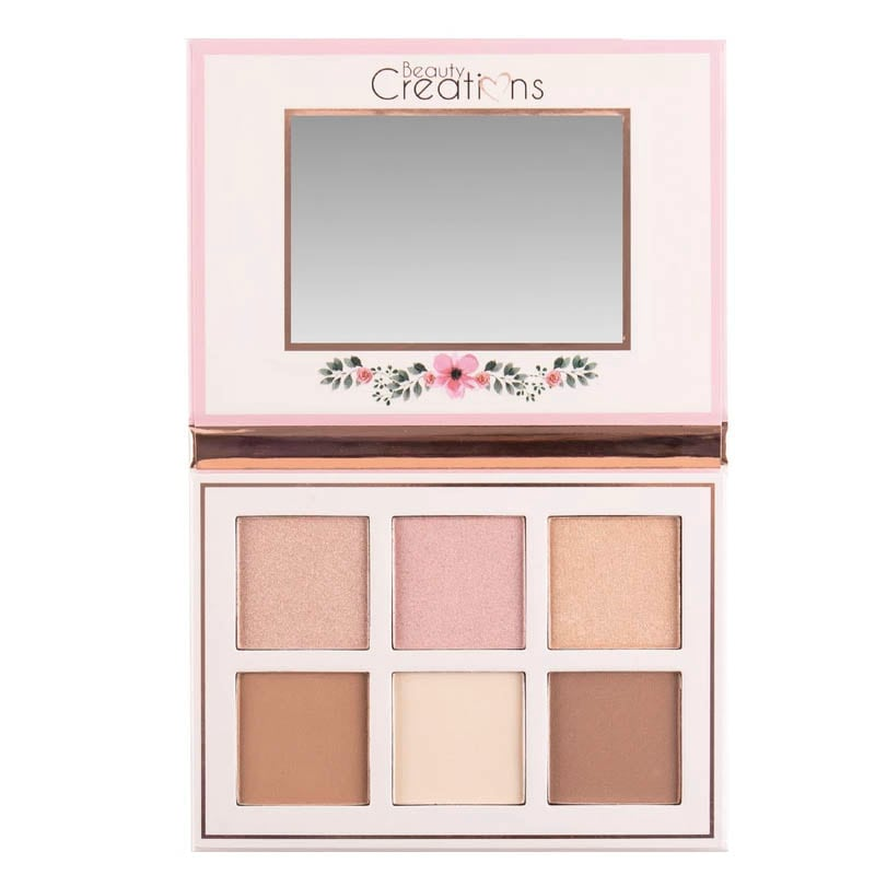 """Floral Bloom"" Paleta de rubor Beauty Creations"