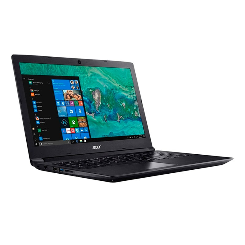 "Laptop Acer Aspire A515-51-572H Core i5 Optane 16GB + RAM 4GB DD 1TB15.6""-Negro"