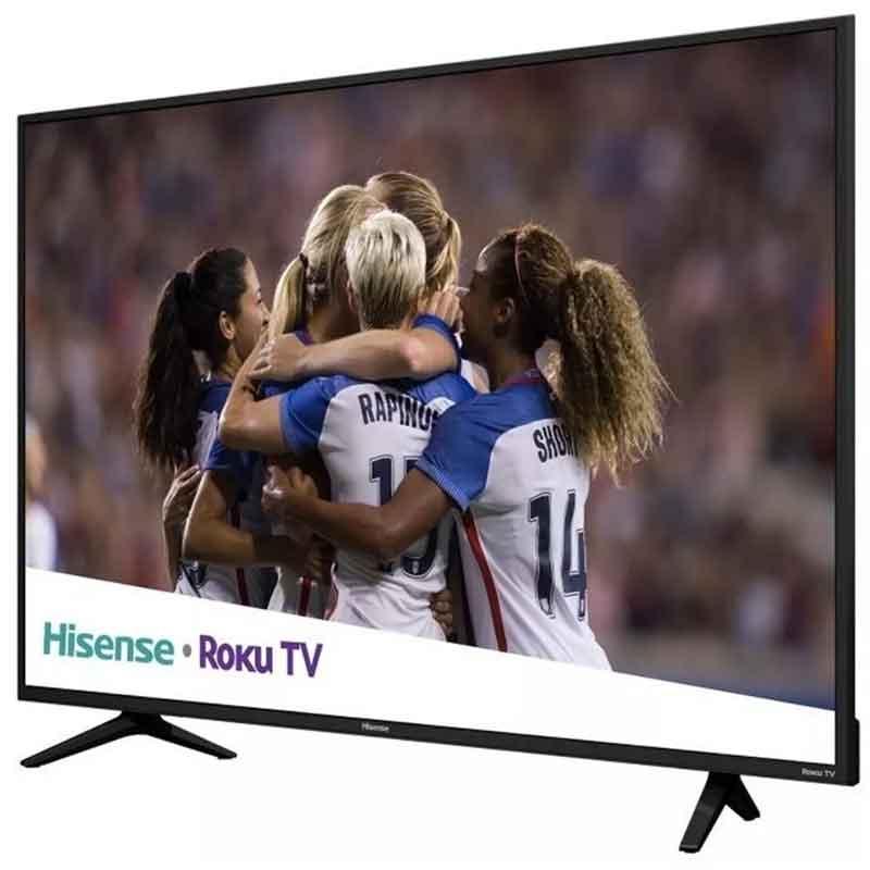 Pantalla 55 Pulgadas HISENSE 55R6E Smart TV ROKU Television 4K Uhd Usb HDMI Reacondicionado