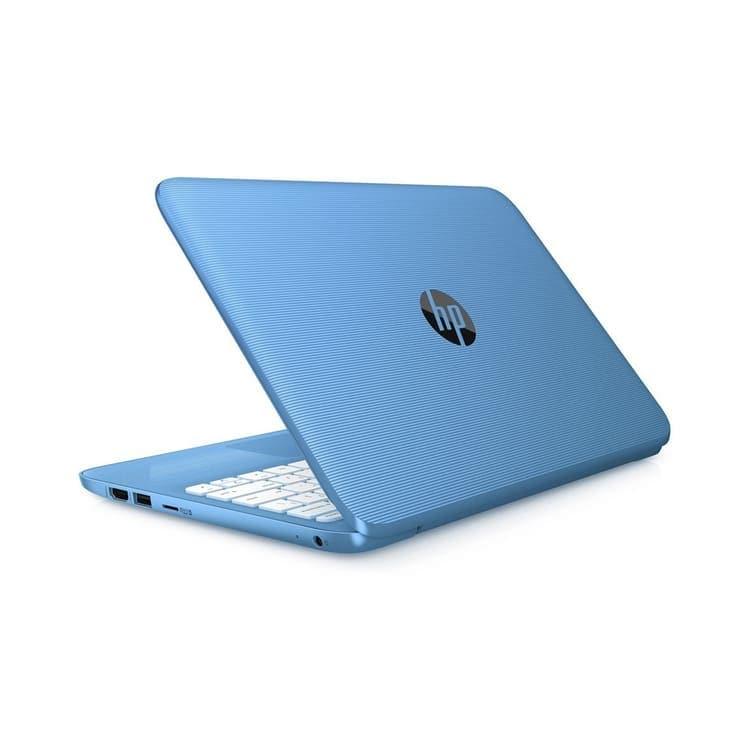 Laptop Hp Stream 11 Dual Core 32gb Ram 4gb W10 + Kit - Azul