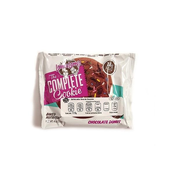 Galletas de Proteína Veganas Lenny  Larry's Sabor Dona de Chocolate
