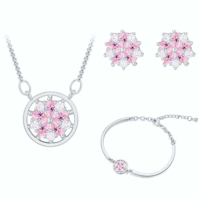 Conjunto Flower of Love Kelwin Crystals