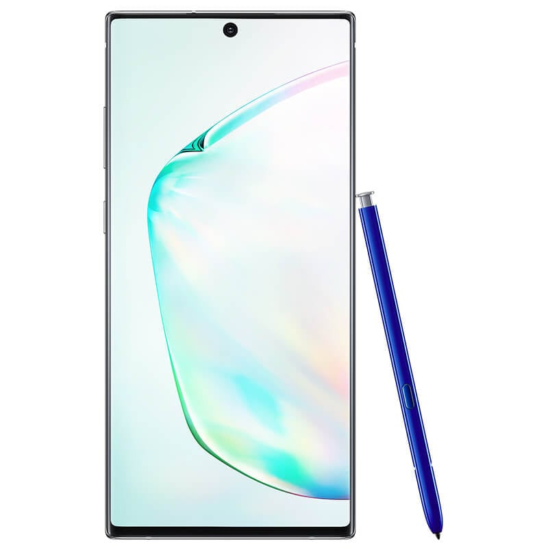 Celular SAMSUNG LTE SM-N975F GALAXY NOTE 10+ Color PLATA Telcel