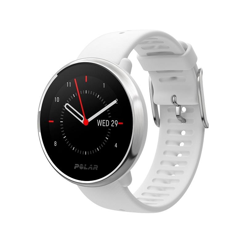 Reloj Fitness Polar Ignite Blanco Gps Frecuencia Cardiaca En Muñeca