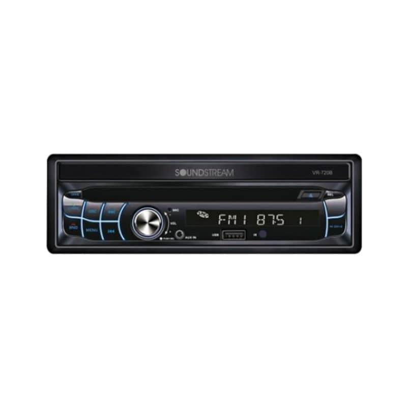 Autoestéreo SoundStream VR-720B con Bluetooth 4.0