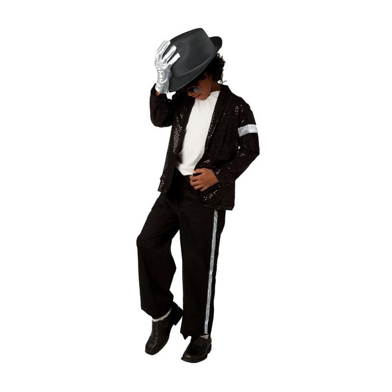 Disfraz de Halloween Cosplay Jackson Rey Pop Niños - DISFRACES TuDi