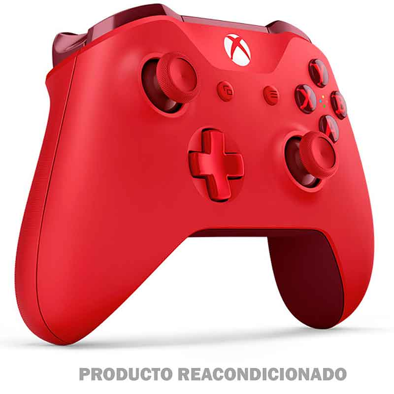 Control XBOX ONE MICROSOFT Inalambrico Rojo Producto Reacondicionado