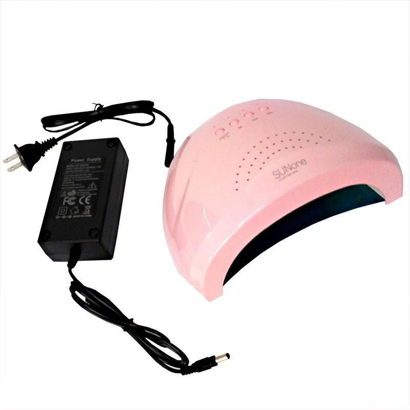 Lámpara de uñas grande 48 w sunone rosa