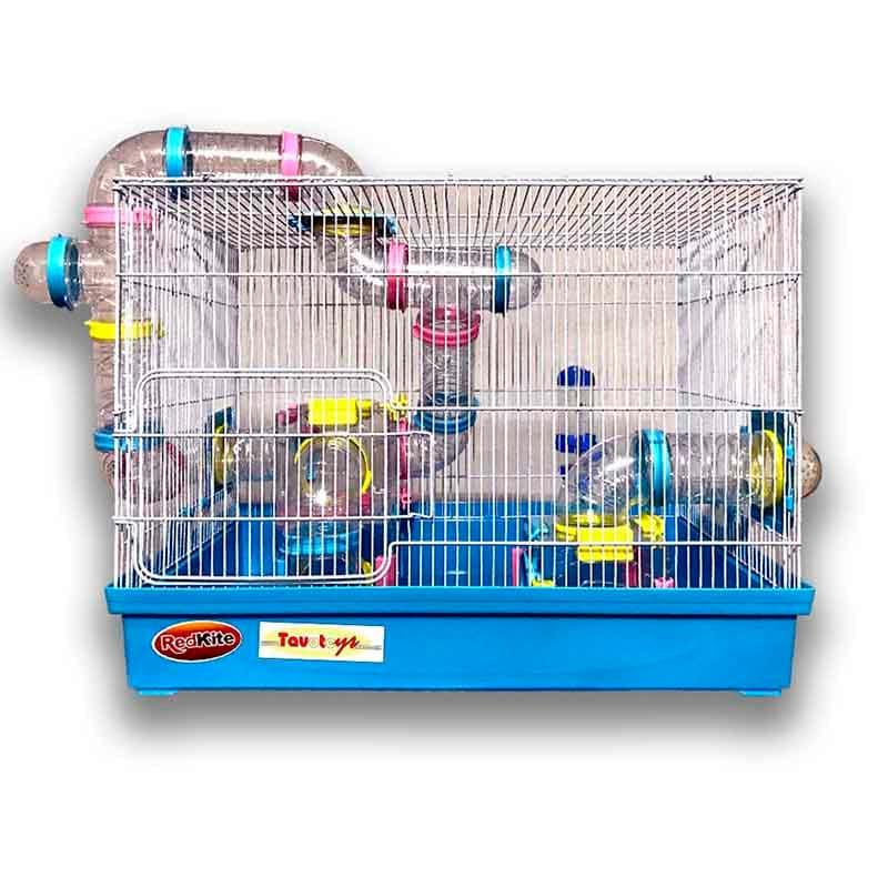 Jaula Para Hamster Super Equipada Raton Roedor Grande Boston