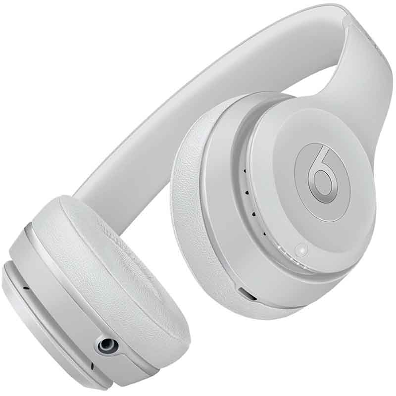 Audifonos BEATS BY DRE Solo3 On-Ear Bluetooth Wireless USB 3.5mm Plata Mate APP-MR3T2LL/A