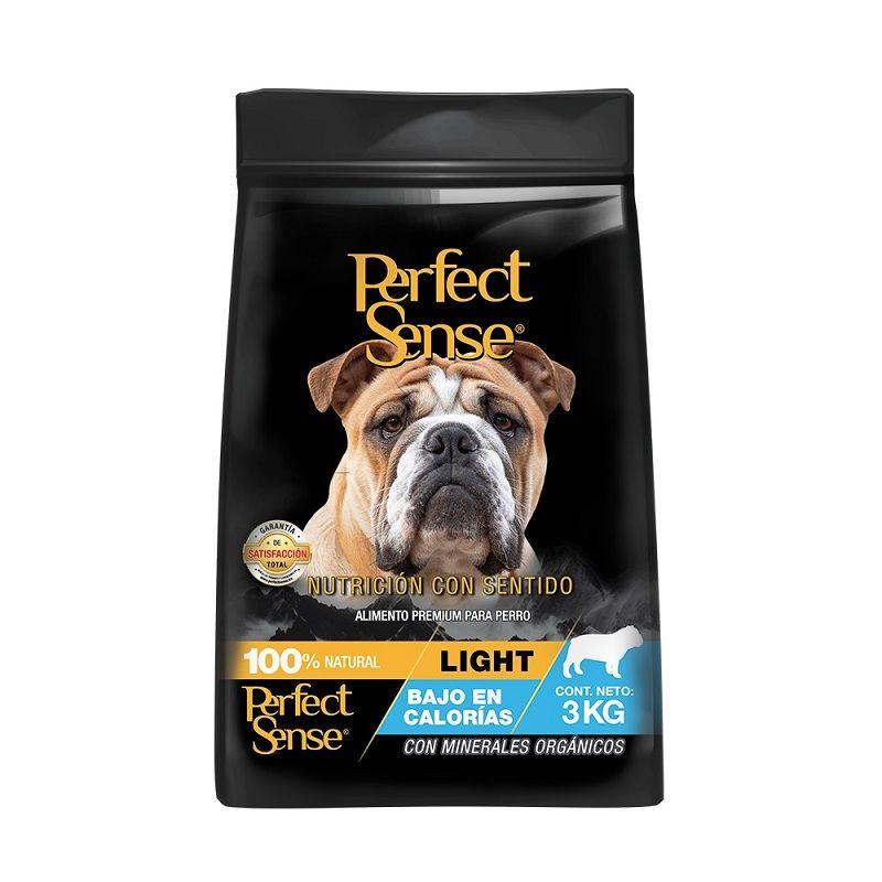 3kg Alimento Croquetas Perro Perfect Sense Light Adulto