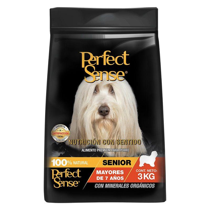 3kg Alimento Croquetas Perro Perfect Sense Senior 7 Años