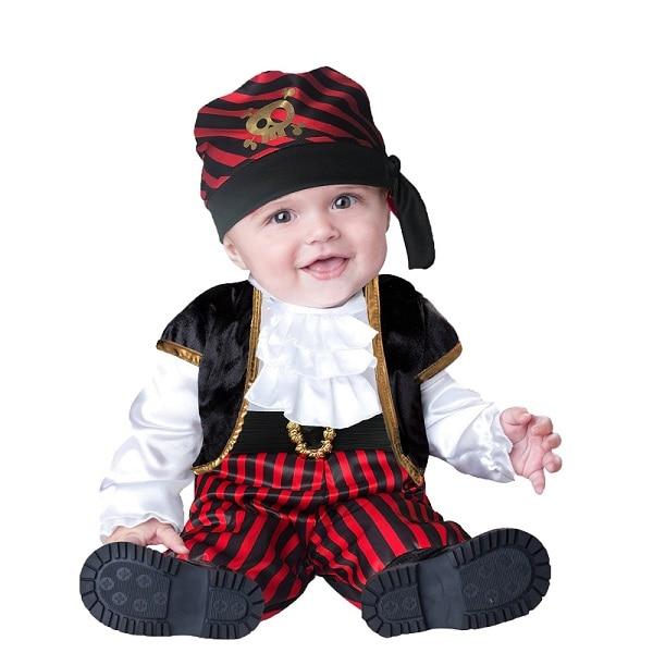 Disfraz De Halloween Bebés Piratas Para Niños Muerte Halloween Caser