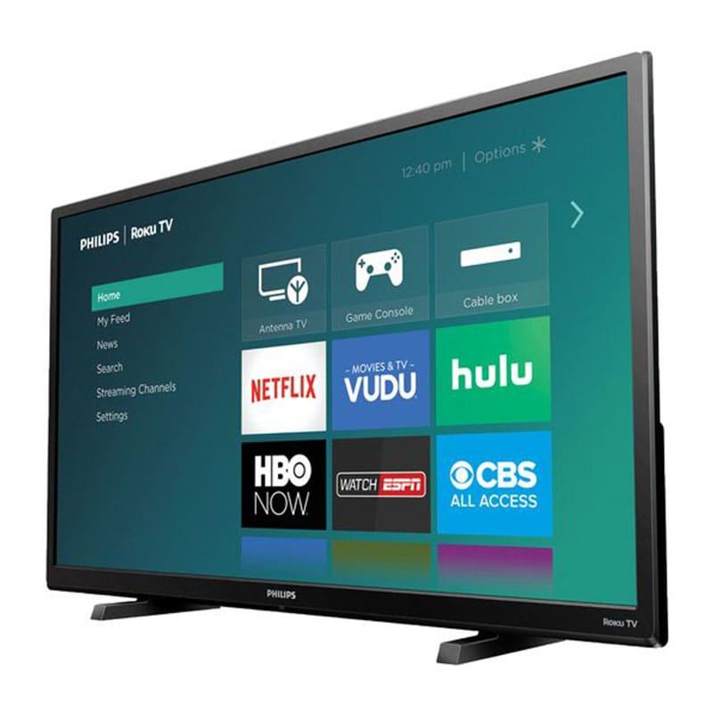 Smart Tv Philips 32 Pulgadas Led Con Roku Y CLARO VIDEO REACONDICIONADA