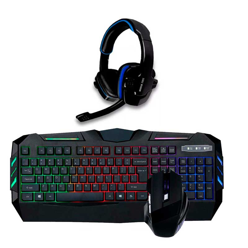 Pc Gamer Xtreme Amd A8 9600 R7 8gb 1tb Led 22 Kit Gamer Rgb