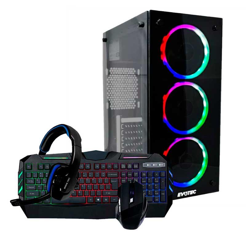 XTREME PC GAMING Amd Ryzen 5 8gb 1tb Rx Vega 11 + Kit Gamer
