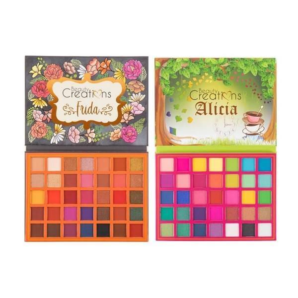 Paquete de 2 paletas de sombras Frida y Alicia de Beauty Creations