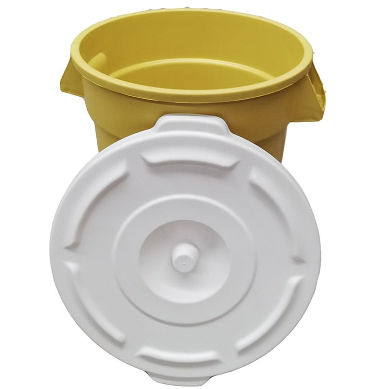 Bote de Basura 55 Litross Food Keepers con Tapa de presion