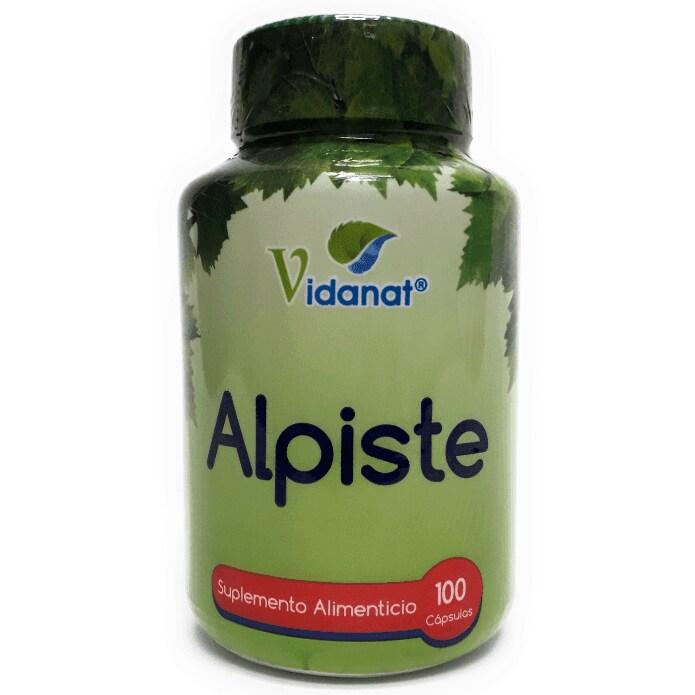 Suplemento Alimenticio Alpiste con 100 cápsulas