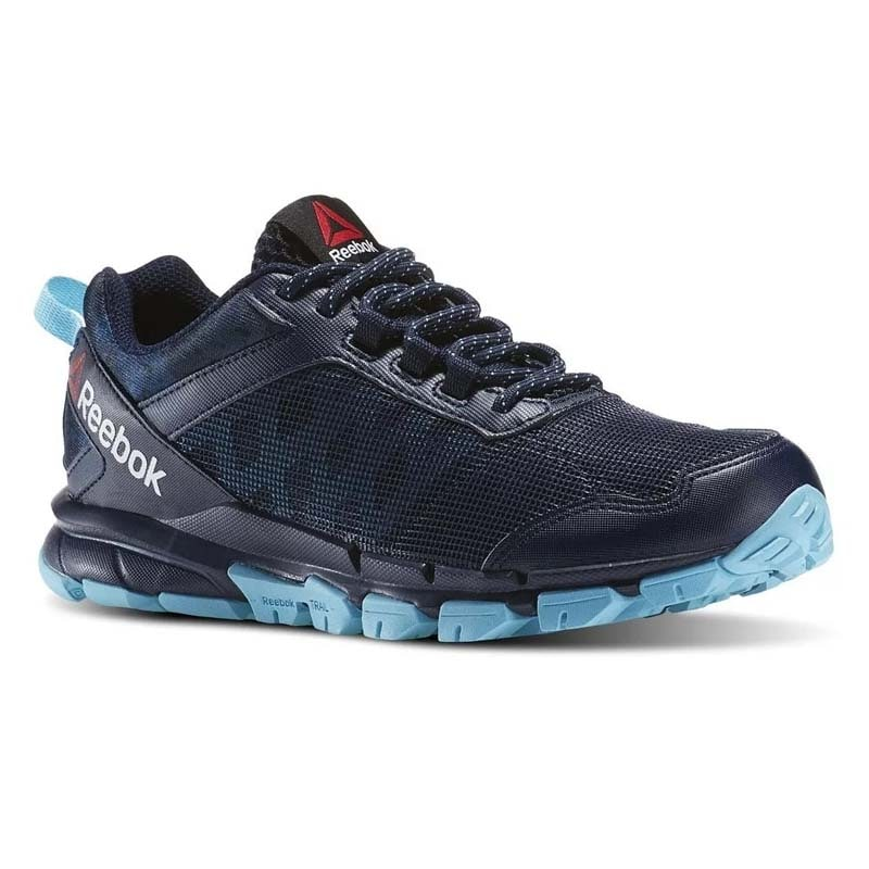 Tenis Reebok Trail Warrio Negro/azul-originales Ar0451