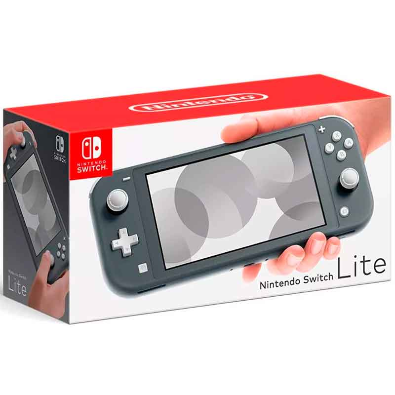 Consola NINTENDO Switch Lite 32GB Gris