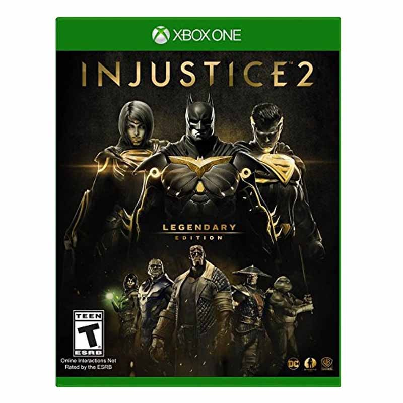 Xbox One Juego Injustice 2 Limited Edition Compatible Con Xbox One