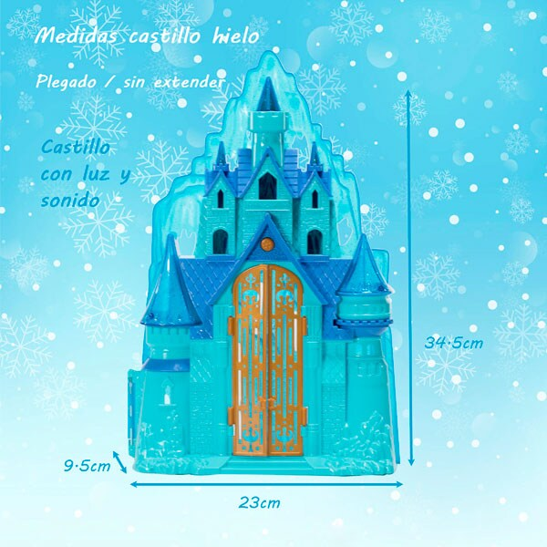 Hf Castillo Frozen Luz Sonido 7299 Juguete Didáctico Niñas