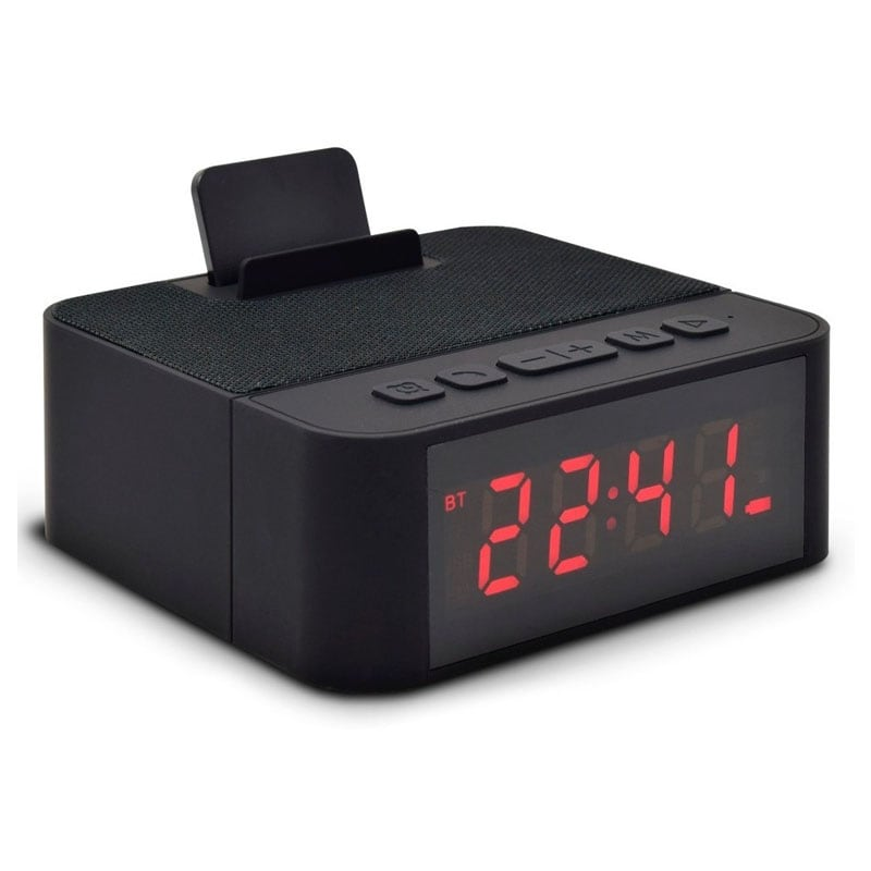 Mini Bocina Portatil Bluetooth Recargable Usb Auxiliar 3.5mm Necnon Audio Nitido