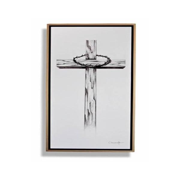 Cuadro Decorativo Cruz - Këssa Muebles
