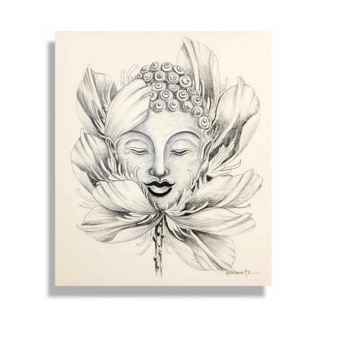 Cuadro Decorativo Buda - Këssa Muebles