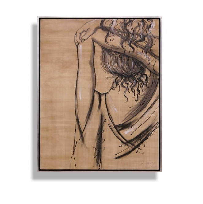 Cuadro Decorativo Mujer Encuadre - Këssa Muebles