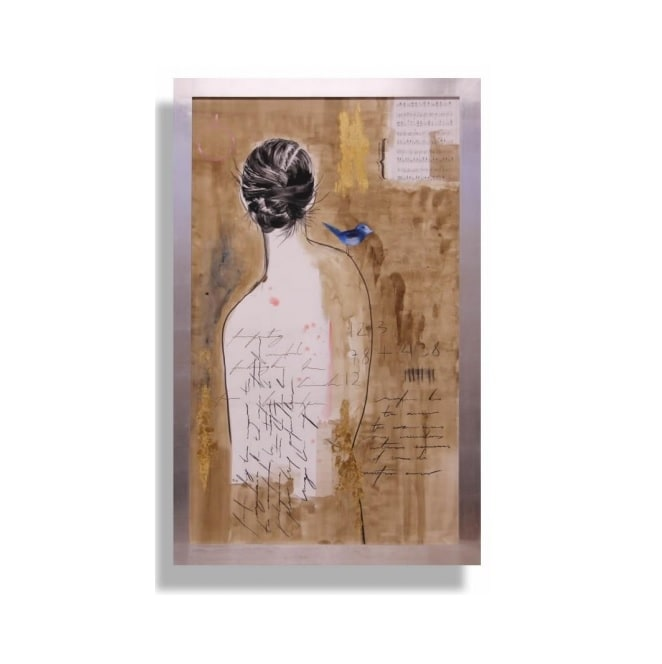 Cuadro Decorativo Desnudo I - Këssa Muebles
