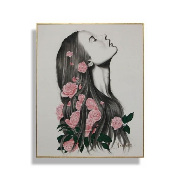 Cuadro Decorativo Mujer - Këssa Muebles