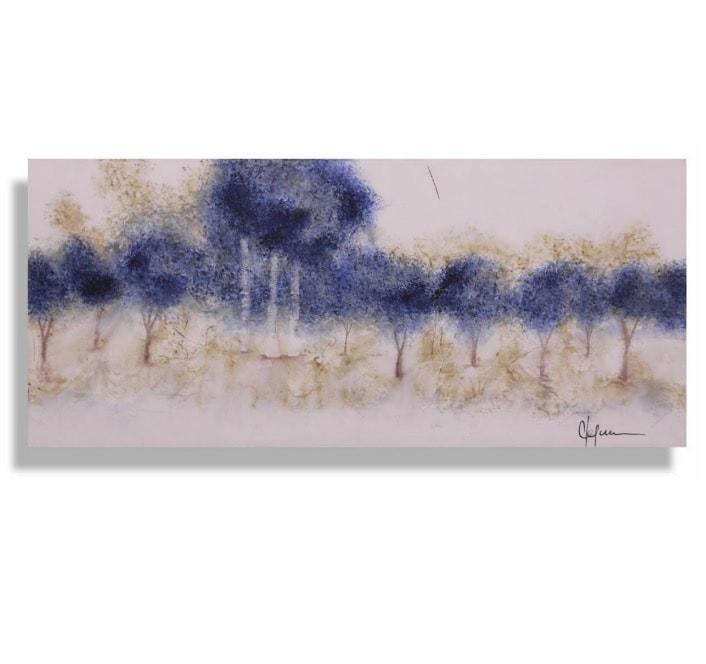 Cuadro Decorativo Bosque Azul - Këssa Muebles